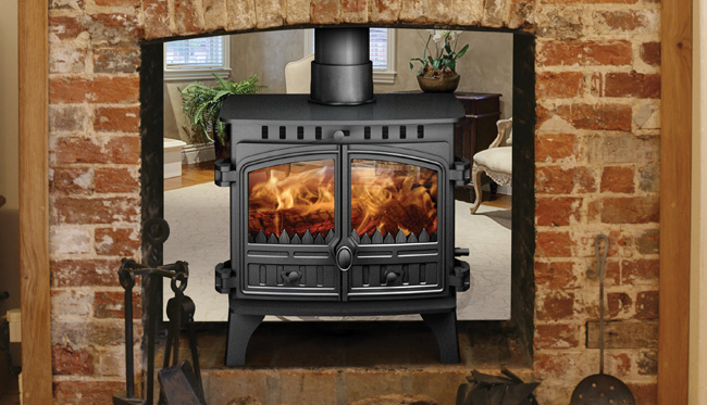 Hunter Herald 8 Double Sided Stove 8 13kw